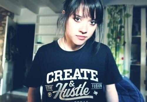 Tumblr #create #hustle #designer #girl #type #typography