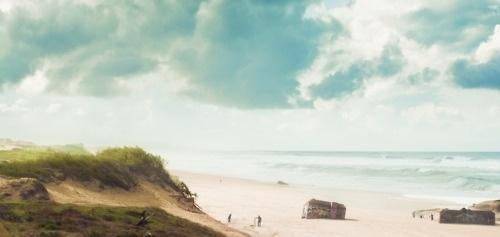 Julb #surf #sky #cloud #france #sea #photography #sand #blue #beach