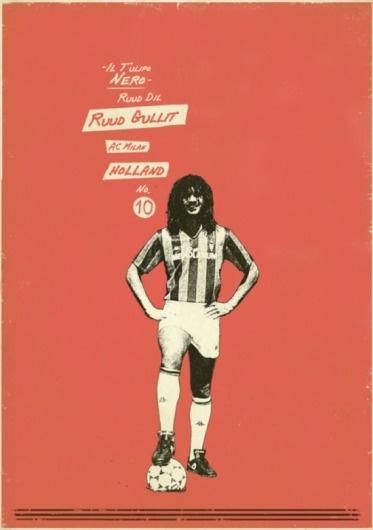 Sucker for Soccer   Fubiz™ #design