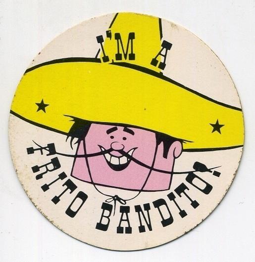 All sizes | Frito Bandito Fan Club Kit | Flickr - Photo Sharing! #logo #illustration #retro #vintage