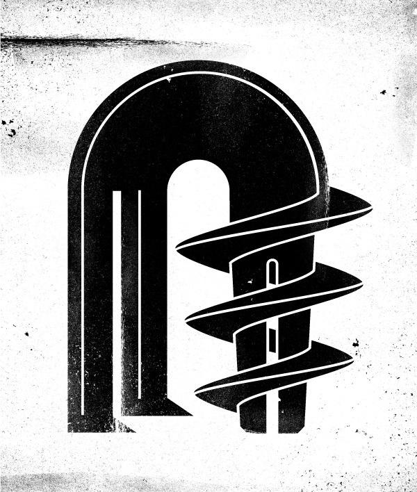 drilling machine #machine #design #black #kostis #illustration #drill #sotirakos #character