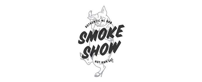 Smoke Show Logo, Barbecue, BBQ - Paul Tuorto