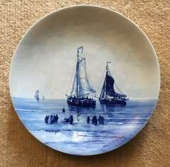 Decorative plate, Holland, XIX century