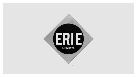 Erie Railroad logo (1891) #logo #identity #seal