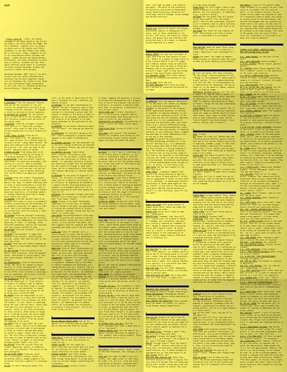 17x22, issue 1: latin -- Abi Huynh #yellow #poster #publication