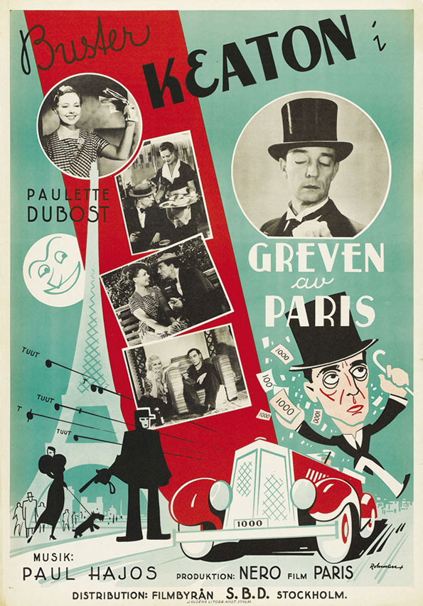 05 rohman champs of the champs elysees paramount 1934 #poster