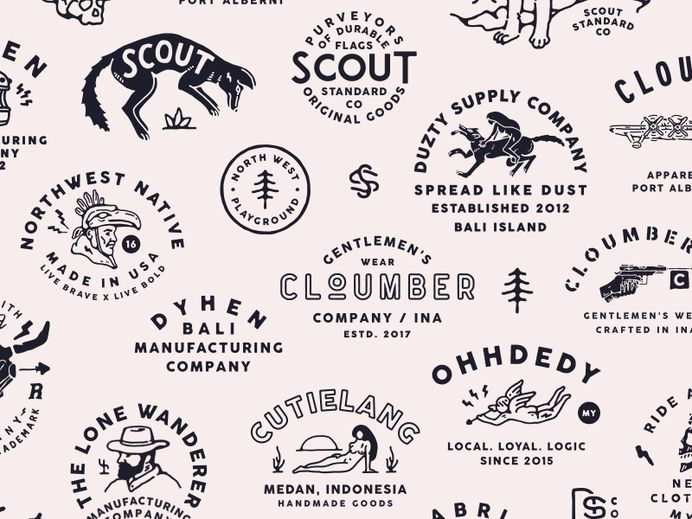 Archive from 2015 - Now branding graphic design vintage illustration