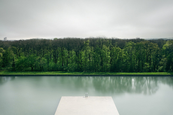 Every thing existing on the physical plane is an exteriorization of... - but does it float #serenity #pier #reflection #lake #jetty #river #trees #green