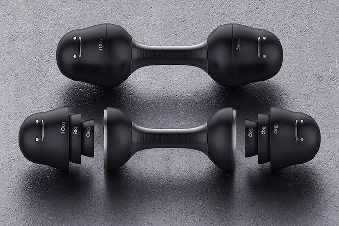 Matryoshka: Dumbbells inspired by Russian dolls - IPPINKA There is no longer an excuse when you can have these versatile and innovative dumbbells right in your home. Matryoshka is a dumbbell set inspired by Russian nesting dolls.