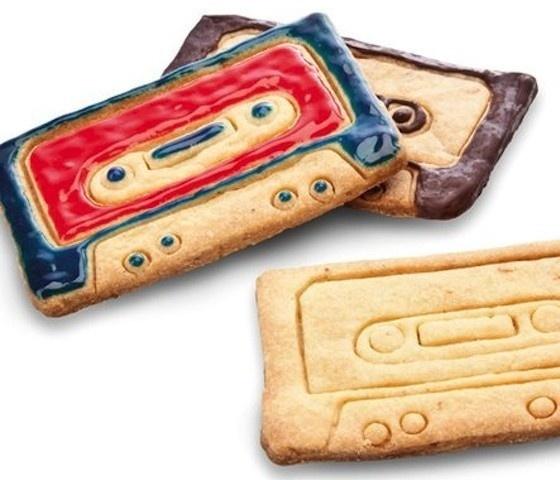 Cassette Cookie Cutters #cutters #cookie