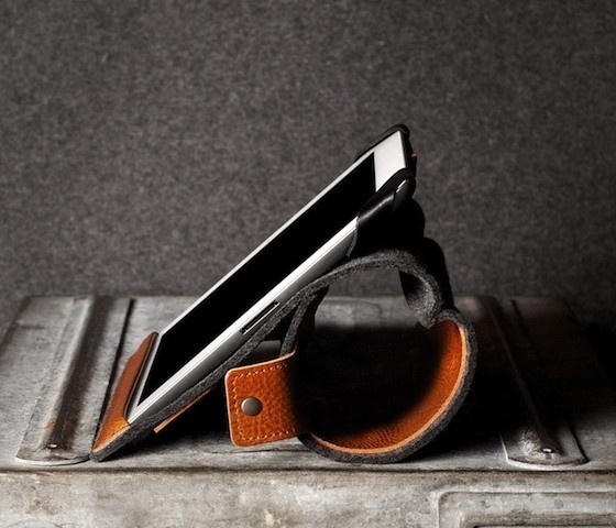 Leather And Felt iPad Case #gadget