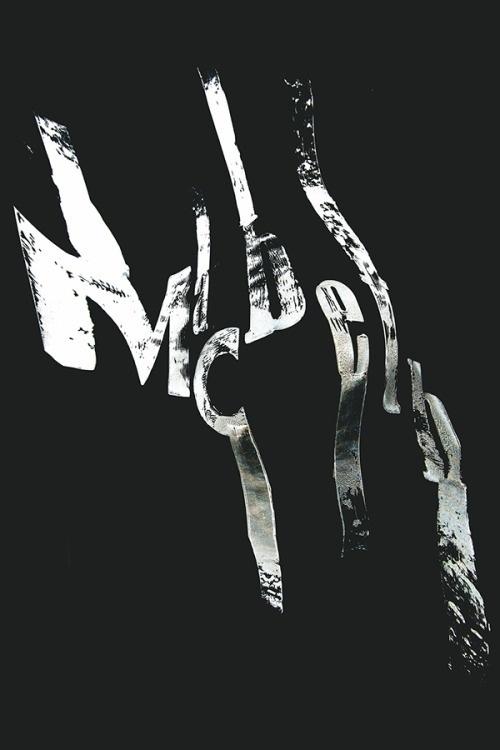 typeverything: Typeverything.com - Macbeth Experiments by Hugo Dumont. #type #black #white #poster