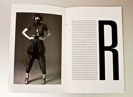 WILDE Magazine on Typography Served #white #black #photography #and #wilde #magazine #typography