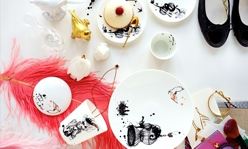 Husligheter – inredning och design. #rrstrand #mademoiselle #porcelain #lovisa #burfitt #oiseau