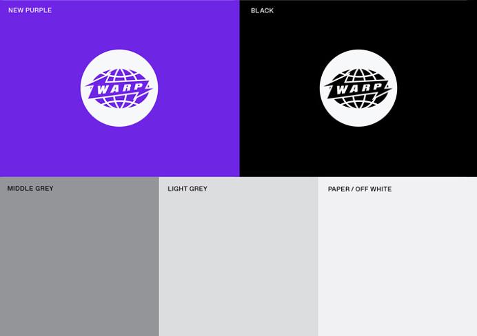 Warp Records by Till Wiedeck #logo #shapes