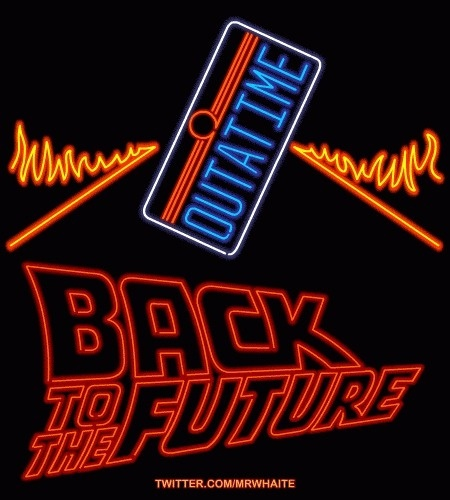 Neon Posters Gif Neon + Filmes legais + Gifs... #the #back #gif #80s #movies #future #to #neon