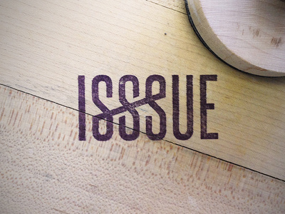 ISSSUE stamp by Wheelhouse #design #graphic #identity