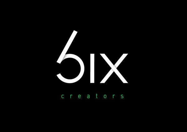 Six on Behance #six #modern #linear #logo #minima