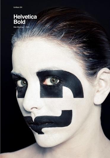 atipo — fontface 3   helvetica bold #poster
