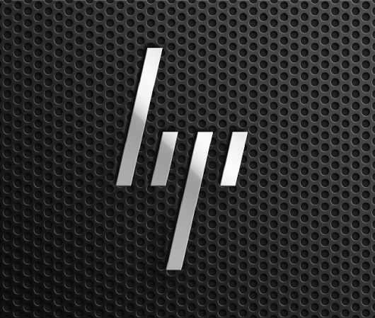 A New HP: So Close, Yet So Far Away - Brand New #computer #logo #stripes #identity