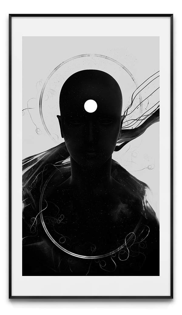 Beware of False Prophets #bible #geometry #wb #infinity #sacred #black #people #earth #digital #illustration #portrait #human #antianti #art #giga #spirit #man #kobidze