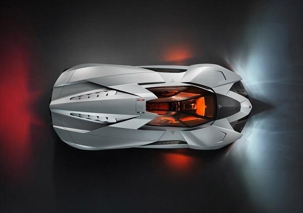 Lamborghini Designs A 'Batmobile Like' Car For Its Anniversary DesignTAXI.com #concept #car #lambo