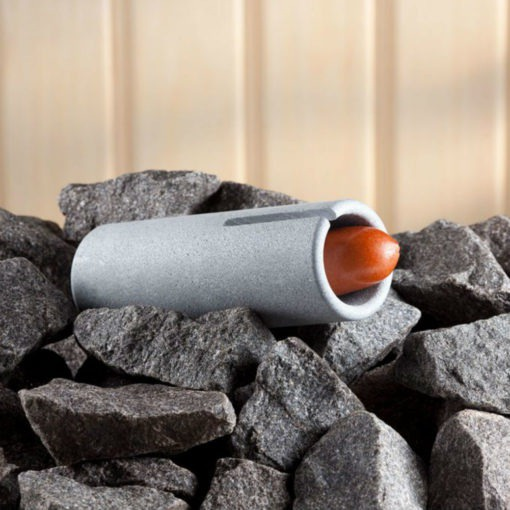 Soapstone Sausage Cooker Cook delicious sausages while grilling or camping with an open fire. This Soapstone Sausage Cooker, made out of natural Finnish soapstone, will cook your favorite sausage to perfection: crispy on the outside, juicy on the inside.