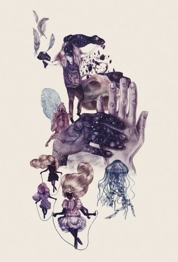 Eibatova Karina - BOOOOOOOM! - CREATE * INSPIRE * COMMUNITY * ART * DESIGN * MUSIC * FILM * PHOTO * PROJECTS #illustration