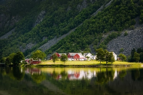 Colors of Norway by Jan Stel #inspiration #photography #travel