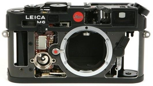 Inside the Leica M6 Rangefinder #camera #leica #photography #equipment