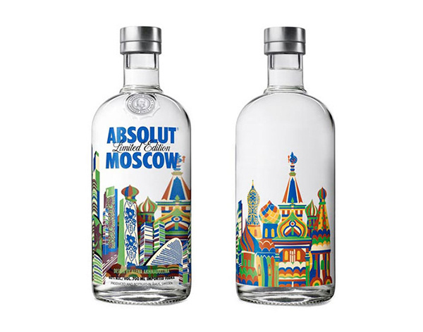Absolut Moscow limited edition bottle #limited #moscow #absolut #bottle