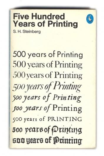 Five Hundred Years of Printing