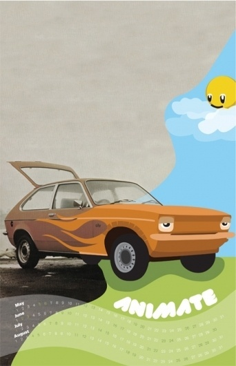 Dribbble - animate2.jpg by Tim Walsh #photo #design #graphic #animate #car #typography