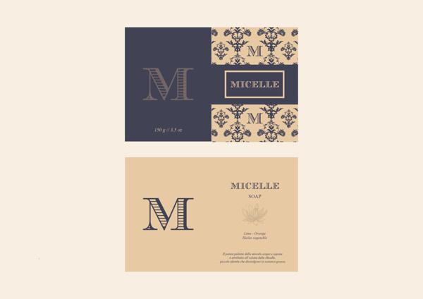 Packaging // Micelle // Soap on Behance #logotype #branding #fancy #logo #typography
