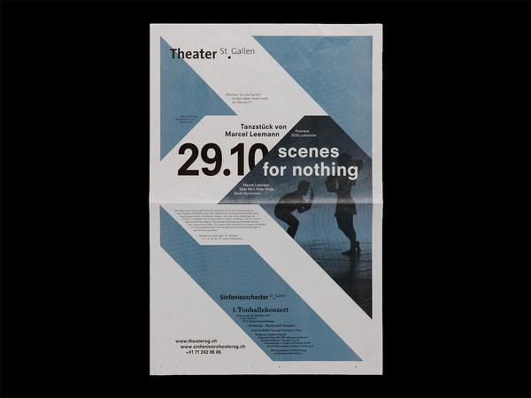 Bureau Collective – Theater St.Gallen 2010/11 #design #graphic #bureau #poster #collective