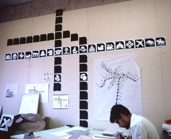 GRAPHIC AMBIENT » Blog Archive » México City Metro, México #icons #wyman