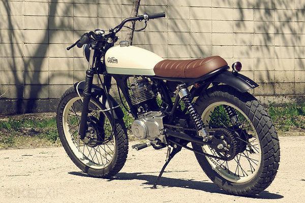 Honda CG125 #tracker #moto