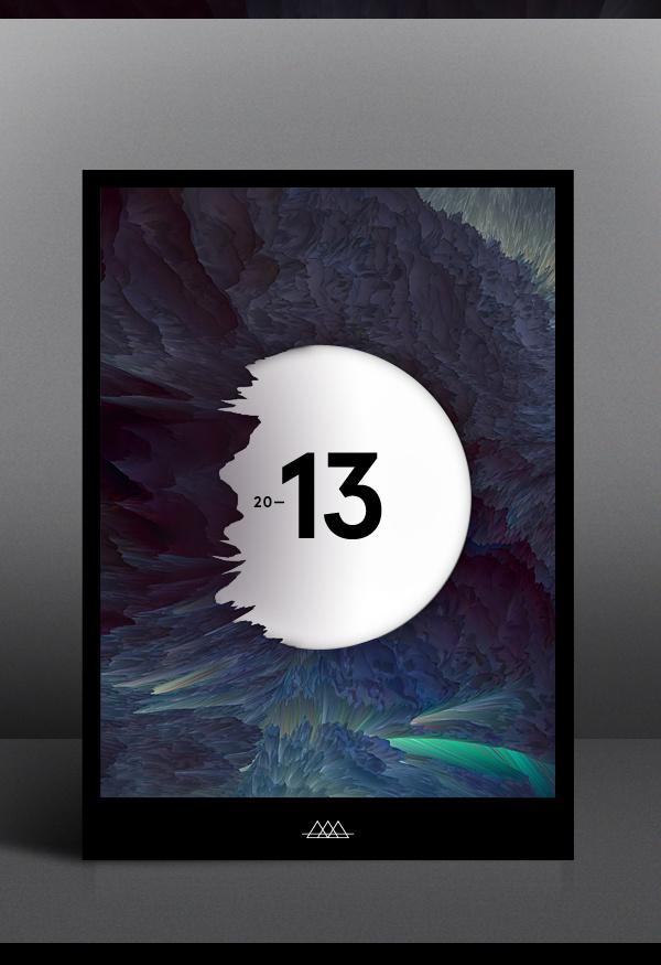 A new world on Behance #2013 #behance #poster