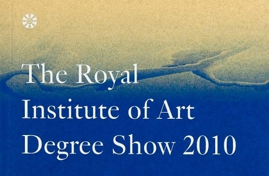 Ritator - Degree Show Catalogue #cover #print