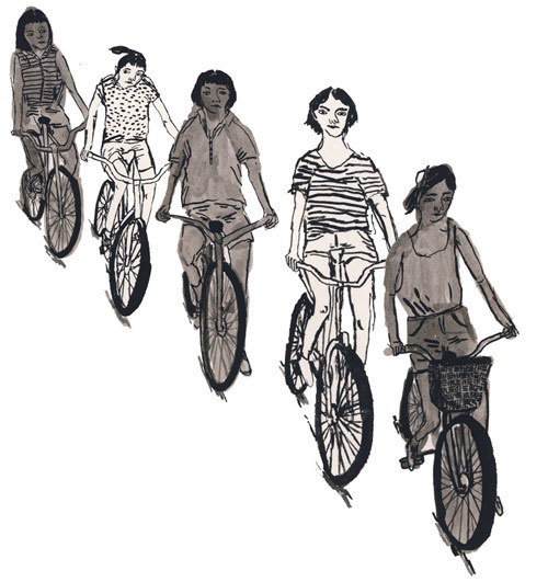 Drawings by Pia Bramley #illustration