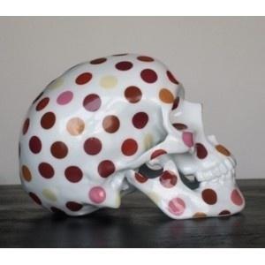 Skull Polka dot by NooN #skull #art
