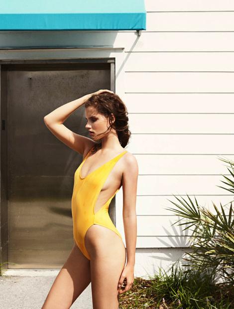 Giedre Dukauskaite by Tobias Lundkvist #fashion #model #photography #girl