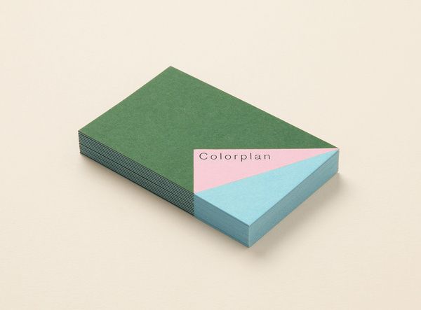 MadeThought × Colorplan — SI Special #business #card #made #colour #thought