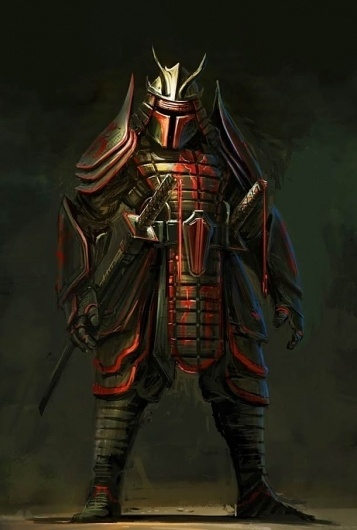 Star Wars Samouraï – Les illustrations de Clinton Felker | Ufunk.net #samurai #illustration #wars #star