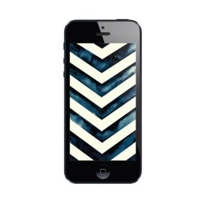 Image of Water Color Chevron | iPhone 5 & iPhone 4 Wallpaper #iphone #wallpaper #chevron #water