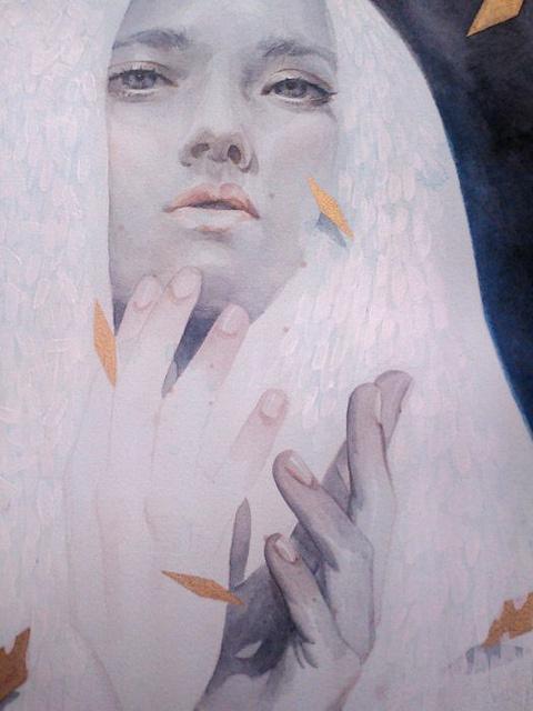 "Sneak Preview of Tran Nguyen and Stella Im Hultberg's ""Borrowed Memories"" | Hi Fructose Magazine #portrait"