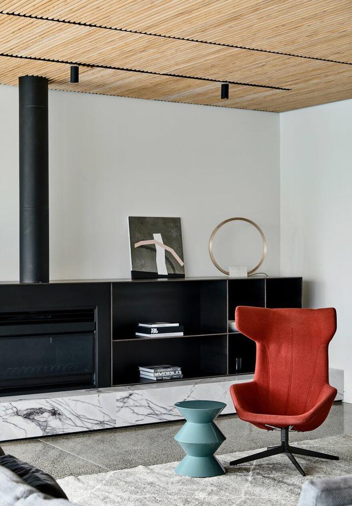 interior design, living room / Chamberlain Architects