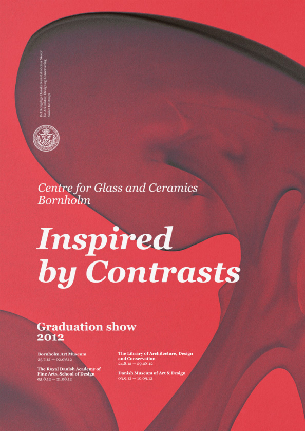 Centre for Glass and Ceramics Graduation show #print #poster