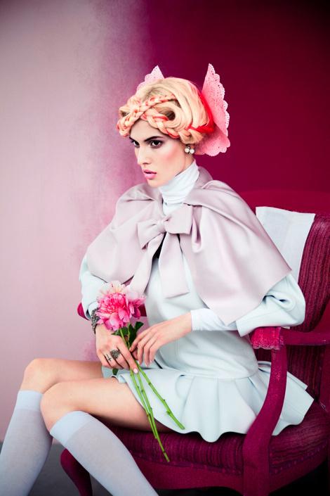 Ruby Aldridge by Erik Madigan Heck for Harper's Bazaar Russia #fashion #model #photography #girl