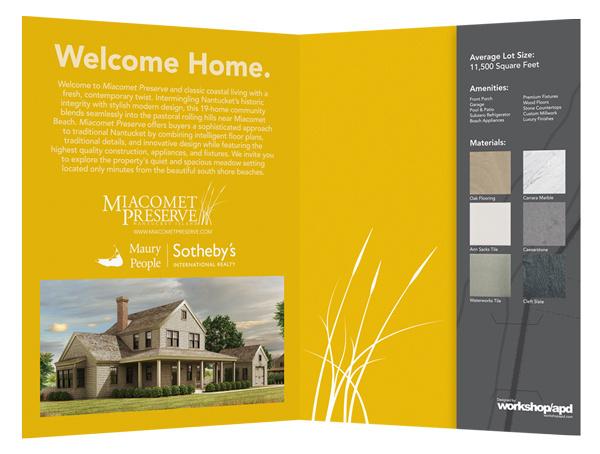 Miacomet Preserve Real Estate Folder #folders #pocket #real #estate #folder